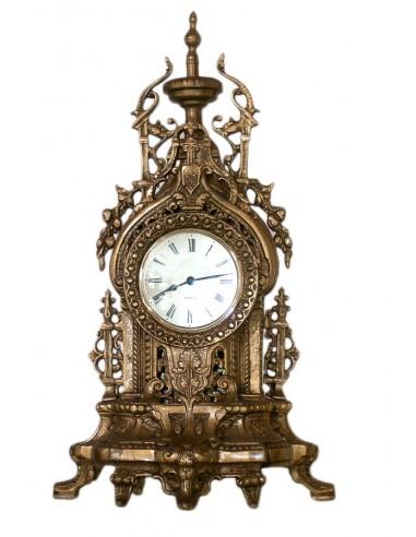 Κλασικό χειροποίητο ρολόι από μασίφ μπρούτζο