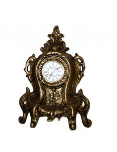 Χειροποίητο κλασικό ρολόι από μασίφ μπρούτζο