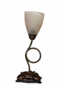 Πορτατίφ κλασικό με γυαλί αλάβαστρο