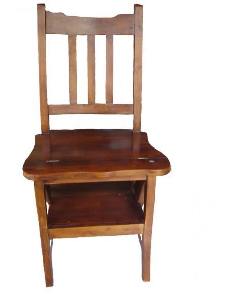 Ξύλινη καρέκλα - σκάλα